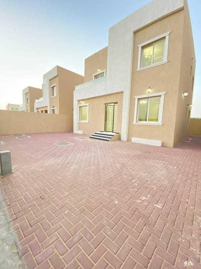 3 Bedroom Villa for Rent in Al Zahya, Ajman - Villa for rent in Ajman, Al Zahia area  first inhabitant  On an asphalt str