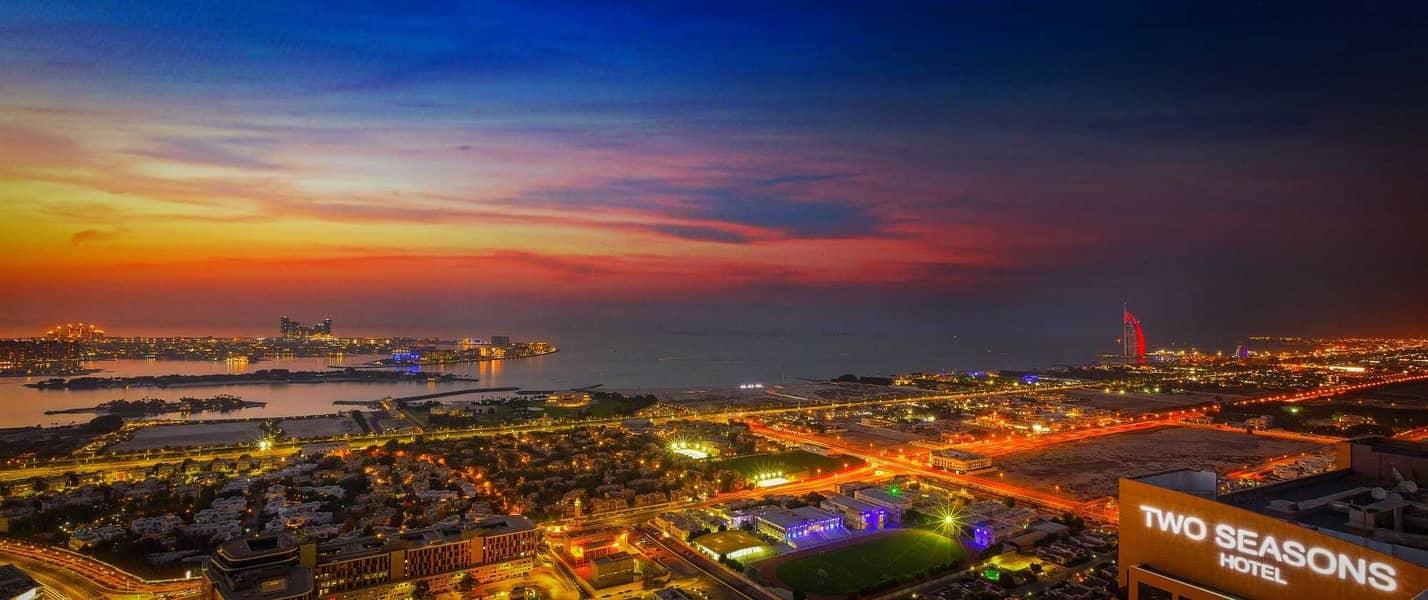 شقة في برج الجواهر دبي مدينة دبي للإنترنت 2 غرف 85000 درهم - 5235074