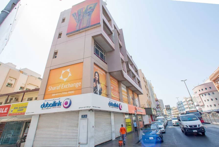 Best Studio  location in Naif Area; near Al Musalla Tower
