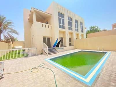 4 Bedroom Villa for Rent in Umm Suqeim, Dubai - OUTSTANDING 4 B/R + MAID'S l SEMI-INDEP l PVT SWIMMING POOL + GARDEN