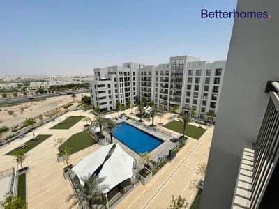 شقة 2 غرفة نوم للايجار في تاون سكوير، دبي - FULLY FURNISHED   APPLIANCES INCLUDED   POOL VIEW