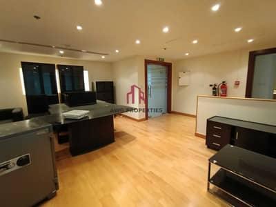 مکتب  للايجار في شارع الشيخ زايد، دبي - Fitted Office w/ Partitions n Furniture | Near Metro