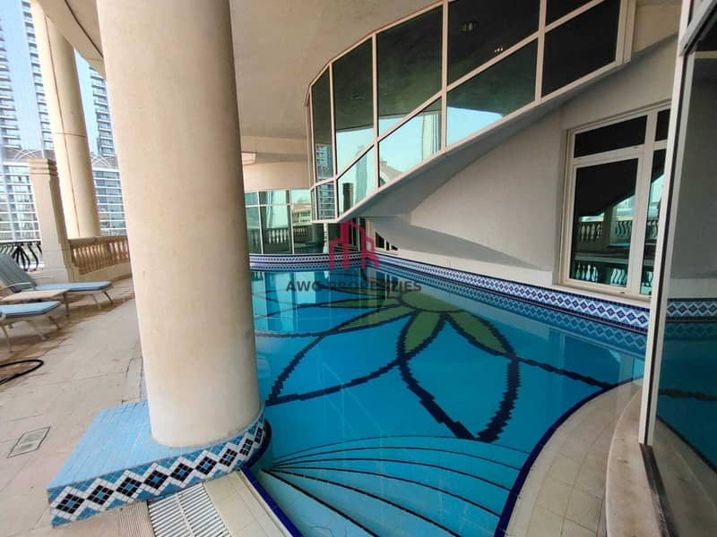 2 Furnished Penthouse! All bills included! Private Pool! Burj View