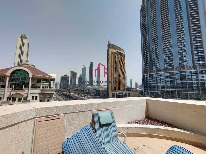 36 Furnished Penthouse! All bills included! Private Pool! Burj View