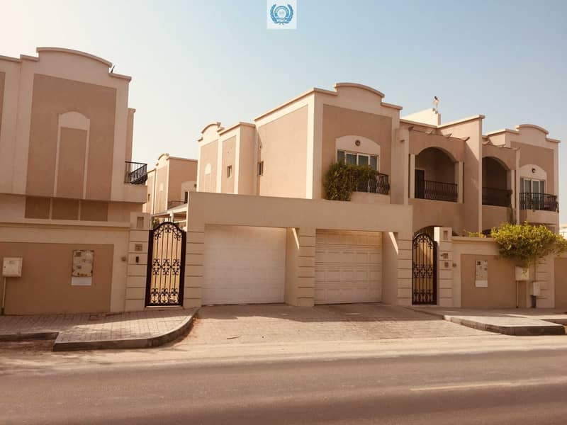 Modern  style four bedroom villa with nice garden  and near to beach area in Rifah Sharjah