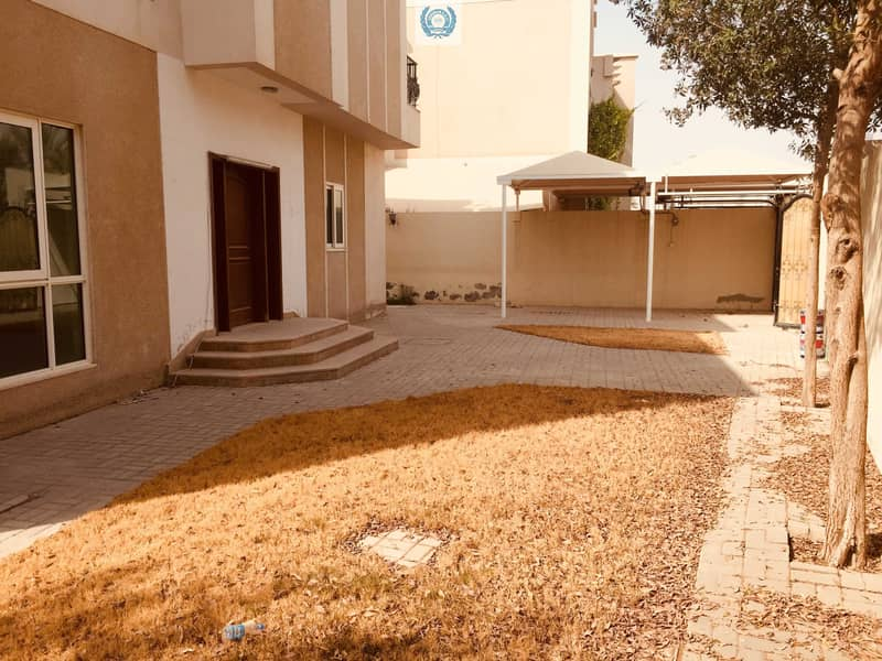 2 Modern  style four bedroom villa with nice garden  and near to beach area in Rifah Sharjah