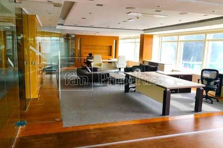 مبنی تجاري  للايجار في القوز، دبي - Fitted office building G+1 in Al Quoz 4