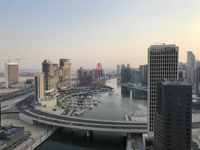 1 MONTH FREE| AL SHAFAR TOWER | CANAL VIEW