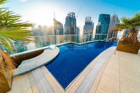 بنتهاوس 4 غرف نوم للبيع في دبي مارينا، دبي - Fully Upgraded | Furnished | Stunning Marina View