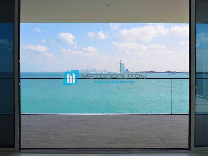 Burj Al Arab and Beach View   Super Luxury Unit