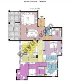 Garden Apartments 2 Bedroom