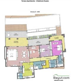 Terrace Apt 3 Bed Dplx Ground Floor