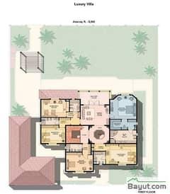 Luxury Villa 5 Bedroom 1st Floor