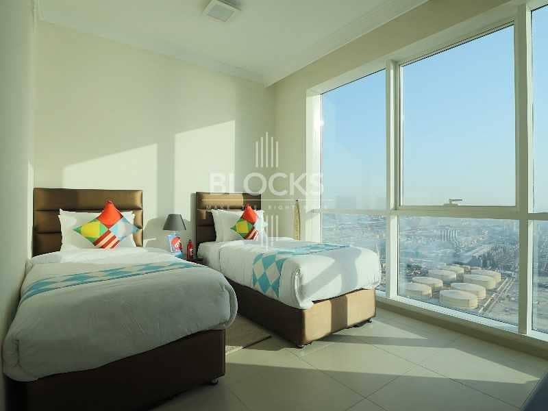2 Sea View | 2BR Apartment + maid  | Al Bateen Tower