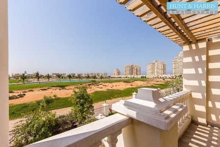 تاون هاوس 4 غرف نوم للايجار في قرية الحمراء، رأس الخيمة - Ready To Move In - Golf Course View - Well Maintained