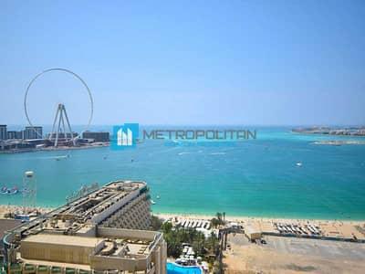 فلیٹ 2 غرفة نوم للبيع في جميرا بيتش ريزيدنس، دبي - High Floor   Sea view   Best Priced I Hot deal