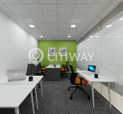 Huge Furnished Office in Latifa Tower on Sheikh Zayed  Road