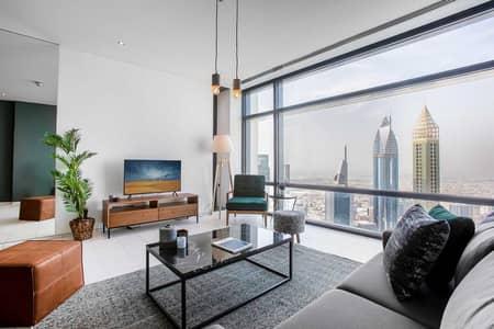 فلیٹ 2 غرفة نوم للايجار في مركز دبي المالي العالمي، دبي - Index Tower XVV