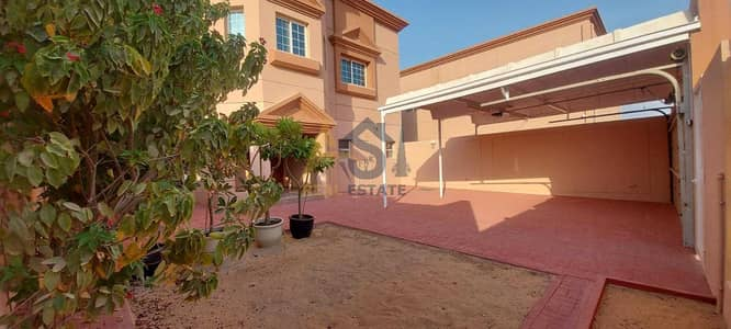 5 Bedroom Villa Compound for Rent in Al Manara, Dubai - Renovated Lavish 5 BR+ Maid's Room Villa| Private Garden| For Rent