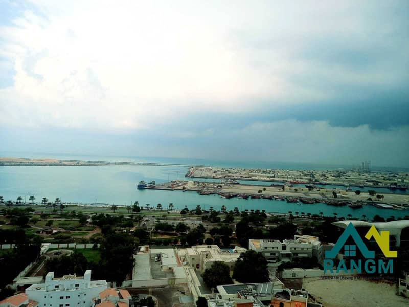 2 Sea View ||  3 Master Br | Maids room | Parking | Gym & Pool