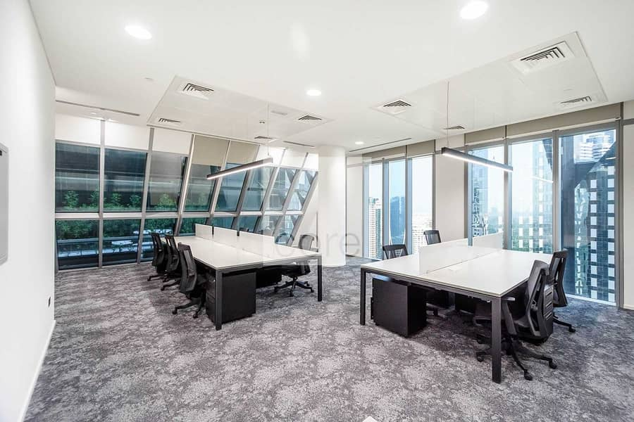 2 Available Office | Fully Fitted | Mid Floor