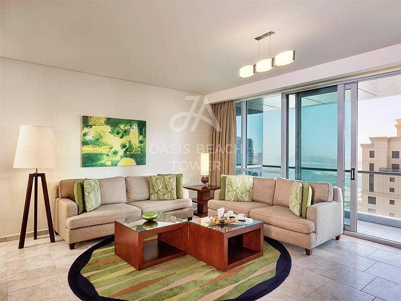 BILLS INCLUDED | Dubai Eye View | Fully Serviced