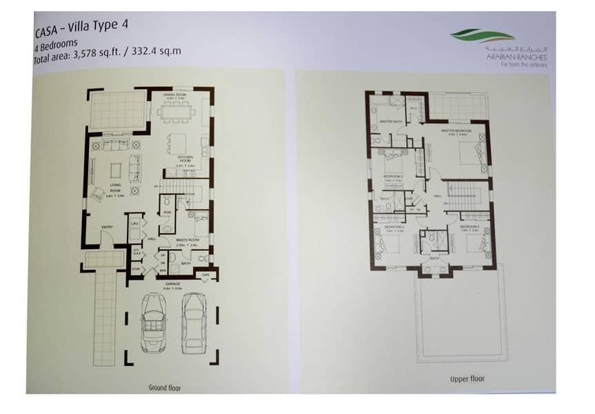 11 Casa Type 4  I  Single Row  I Exclusive Listing