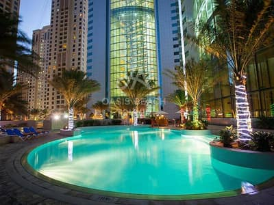4 Bedroom Hotel Apartment for Rent in Jumeirah Beach Residence (JBR), Dubai - INCOMPARABLE | Tastefully Furnished | JBR