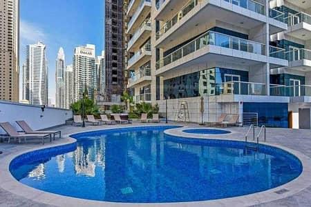 شقة 2 غرفة نوم للايجار في دبي مارينا، دبي - شقة في برج كونتيننتال دبي مارينا 2 غرف 85000 درهم - 5325356