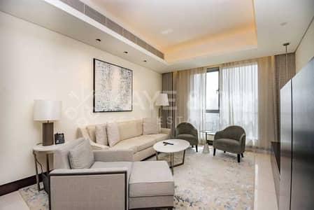 فلیٹ 1 غرفة نوم للبيع في وسط مدينة دبي، دبي - Full Fountain and Burj View   Furnished No Balcony