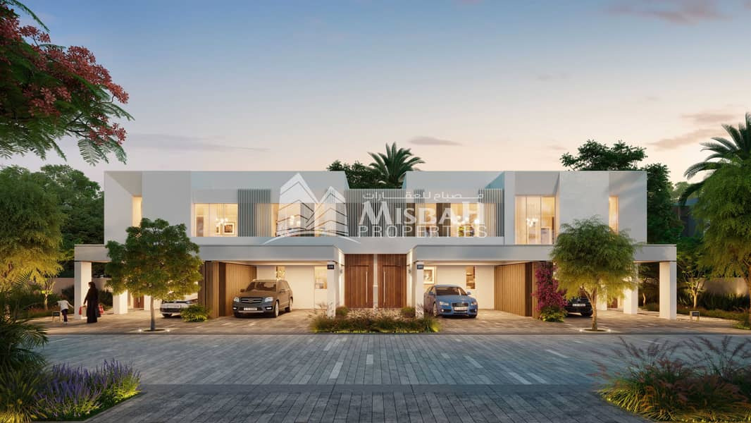 3 and 4-bedroom single-row townhouses with amazing amenities