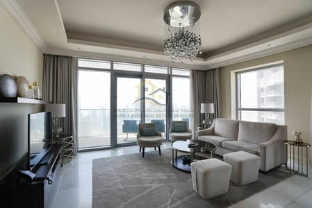 3 Bedroom Penthouse for Rent in Downtown Dubai, Dubai - 3BR with maid Penthouse Sky Collection Full Burj and Fountain Views