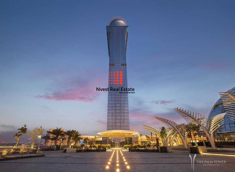 LUXURY 1 BEDROOM-WHERE THE ISLAND MEETS THE SKY-THE PALM TOWER