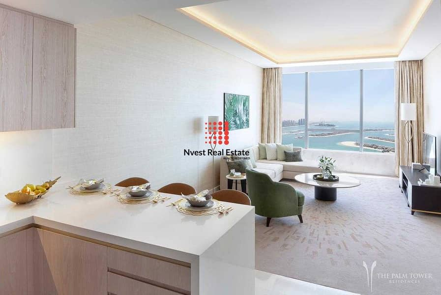 2 Furnished 1 Bedroom-Payment Plan Panoramic Views Of Palm Jumeirah