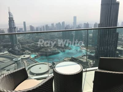 4 Bedroom Apartment for Rent in Downtown Dubai, Dubai - The Address Blvd 4 Bed w/ Stunning Views