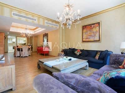 فلیٹ 4 غرف نوم للبيع في دبي مارينا، دبي - Upgraded Unit | Lower Floor | Maid's Room