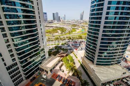 شقة 2 غرفة نوم للايجار في أبراج بحيرات الجميرا، دبي - 2-Bed plus Maid's | Lake and Marina View | Al Seef 2