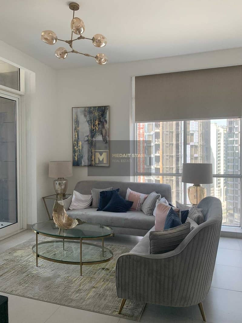 No Commission   Ready to Move In   spacious 1BR view  on Canal and Burj Khalifa