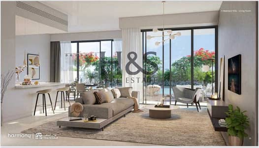 4 Bedroom Villa for Sale in Tilal Al Ghaf, Dubai - 60/40 Payment Plan |Rooftop Suite |Semi- Detached Style Villa