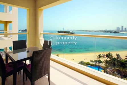 1 Bedroom Flat for Sale in Palm Jumeirah, Dubai - Stunning Sea View | High ROI | Vacant Now