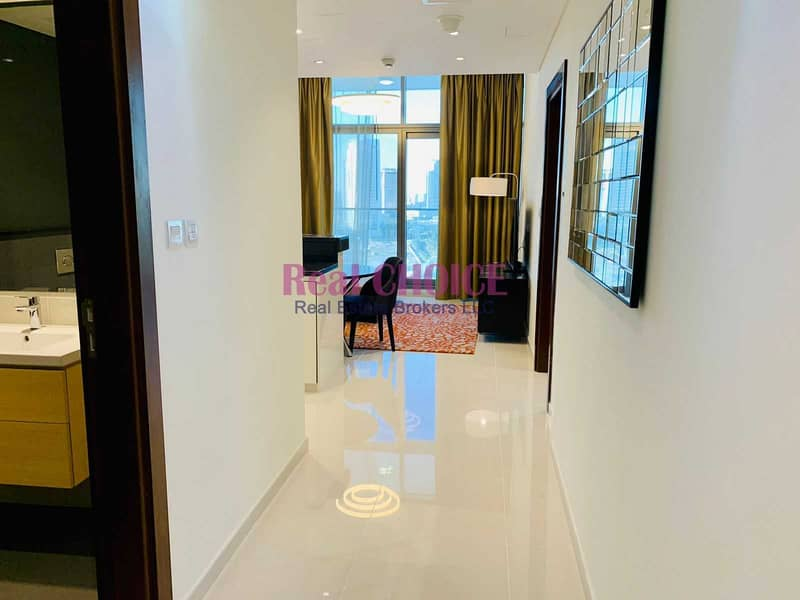 High Floor | Fully Furnished 1 Bed | Golf View