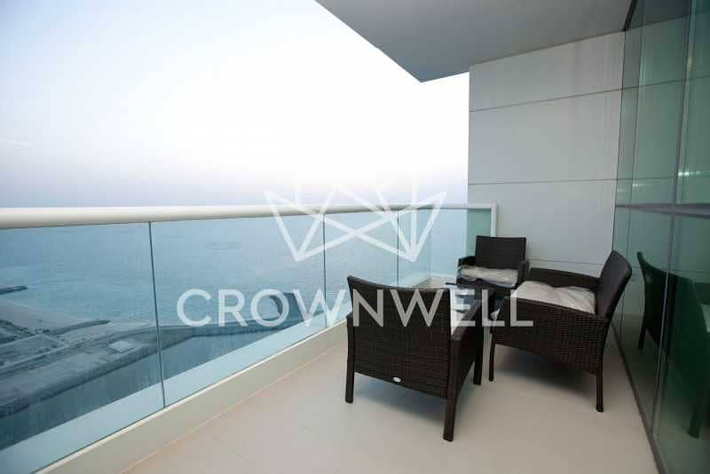 2 High Floor    Balcony + Seaview   Ready to Move-in