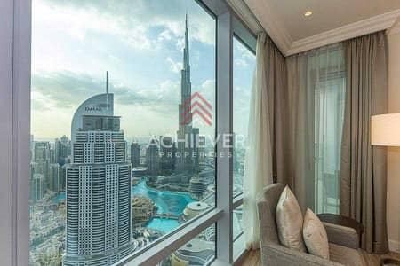 فلیٹ 2 غرفة نوم للبيع في وسط مدينة دبي، دبي - Stunning Burj and Fountain Views   Luxurious