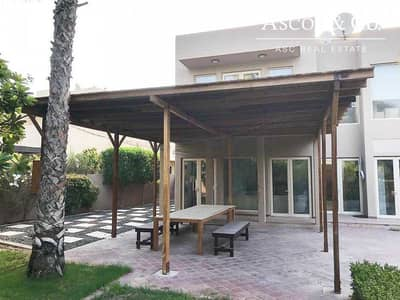3 Bedroom Villa for Rent in Arabian Ranches, Dubai - WELL MAINTAINED|PARK BACKING|LANDSCAPED|