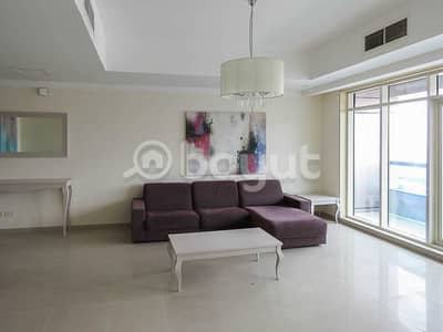 3 Bedroom Flat for Rent in Al Khan, Sharjah - LUXURIOUS 3 BHK FURNISHED + 2 MONTHS FREE + CHILLER BILL FREE