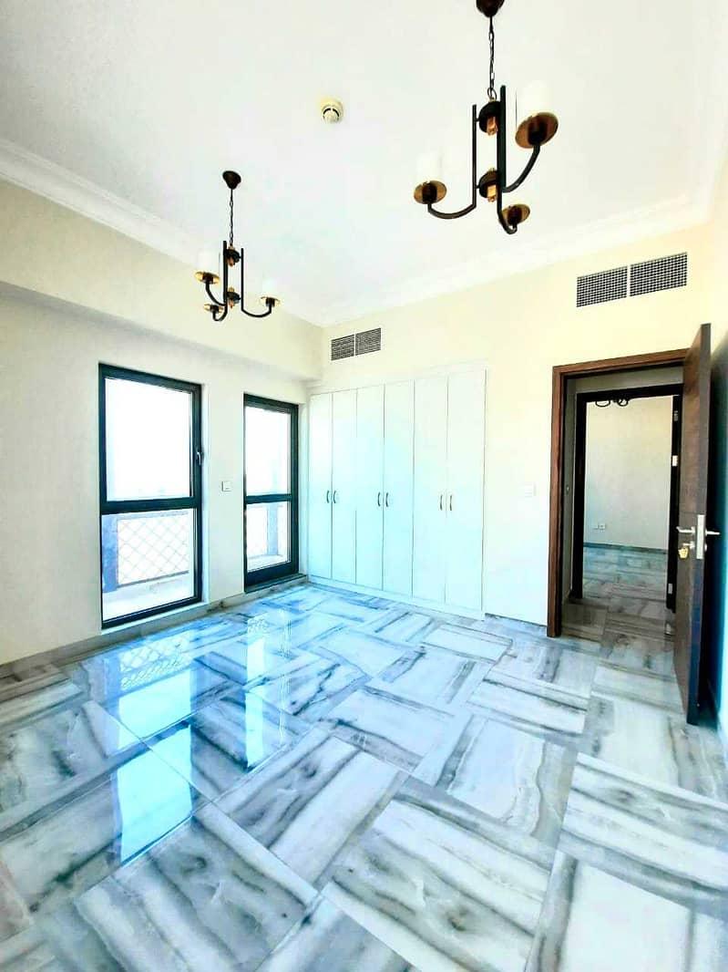 شقة رائعة رائعة من غرفتي نوم مع تشطيب كامل اللمعان لشهر إضافي مجانًا فقط في 55 ألفًا