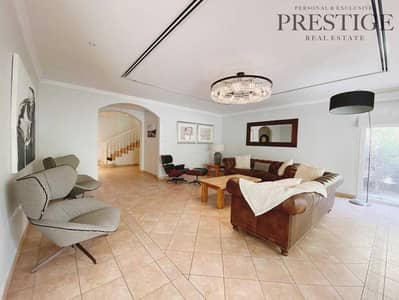 4 Bedroom Townhouse for Sale in Green Community, Dubai - Pool facing | Vacant on Transfer | Corner | 4 Beds