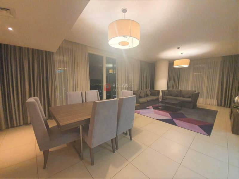 Serviced Apartment   All Bills included   Along Sheikh Zayed