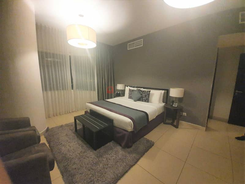 2 Serviced Apartment   All Bills included   Along Sheikh Zayed
