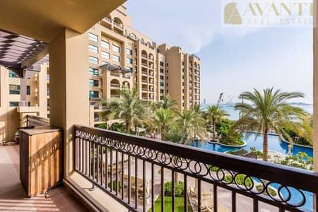 شقة 2 غرفة نوم للبيع في نخلة جميرا، دبي - Fabulous Sea View with Huge Terrace 2BR apartment !